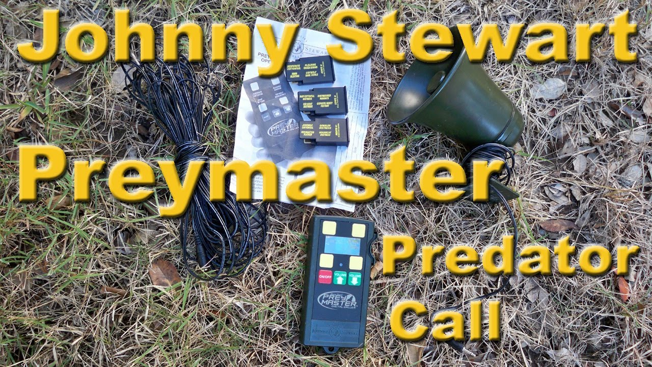 Predator Call Review (Johnny Stewart Preymaster & Primos Sit-N-Spin)