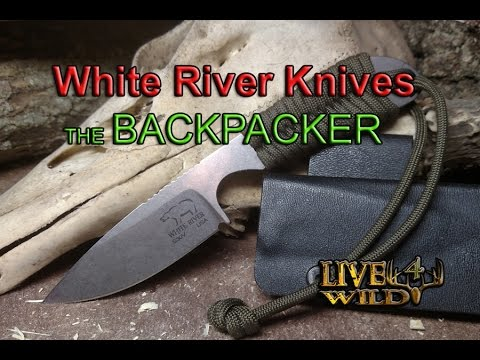 BACKPACKER BY WHITE RIVER KNIVES