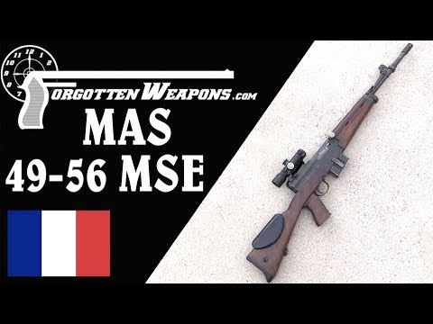 A Rifle for International Competition: the MAS 49-56 MSE