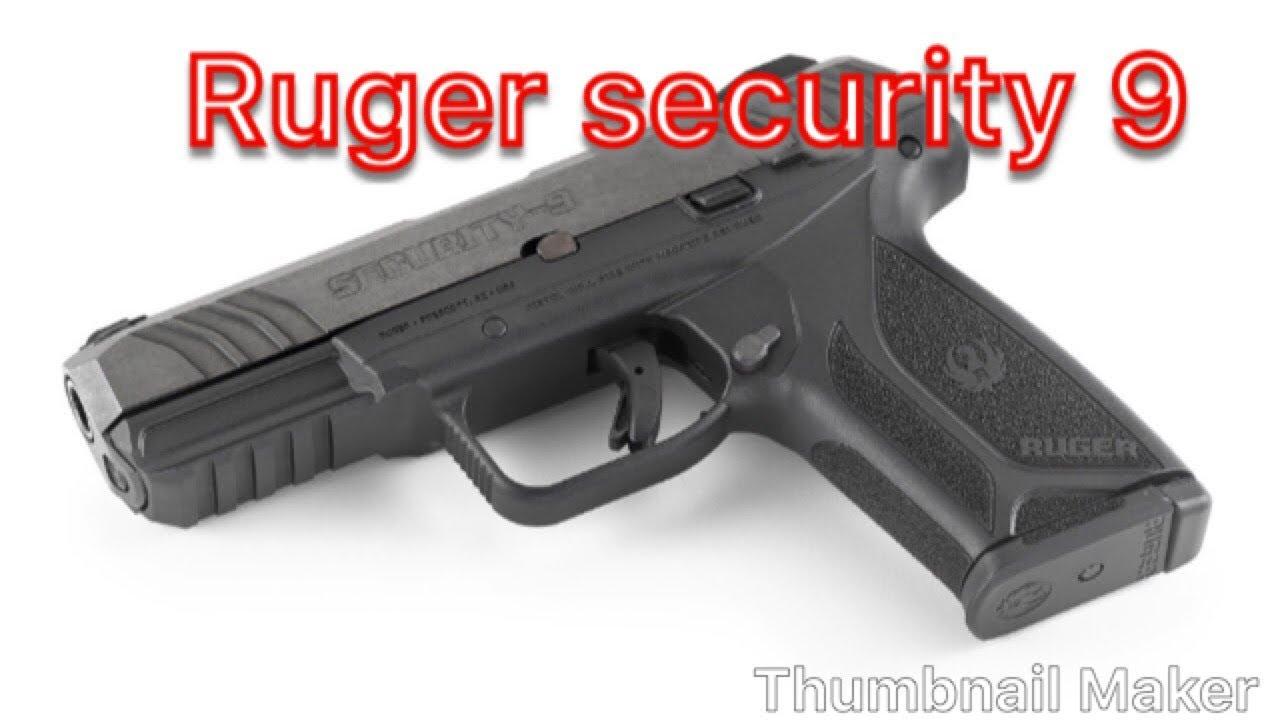Ruger security 9mm