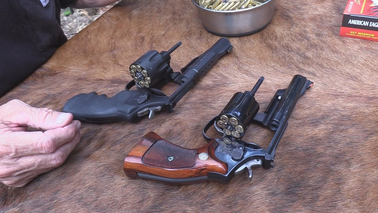 357 Magnum Tactical vs Classic