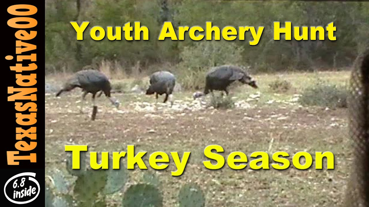 Early Season Youth Turkey Hunt with Compound Bows