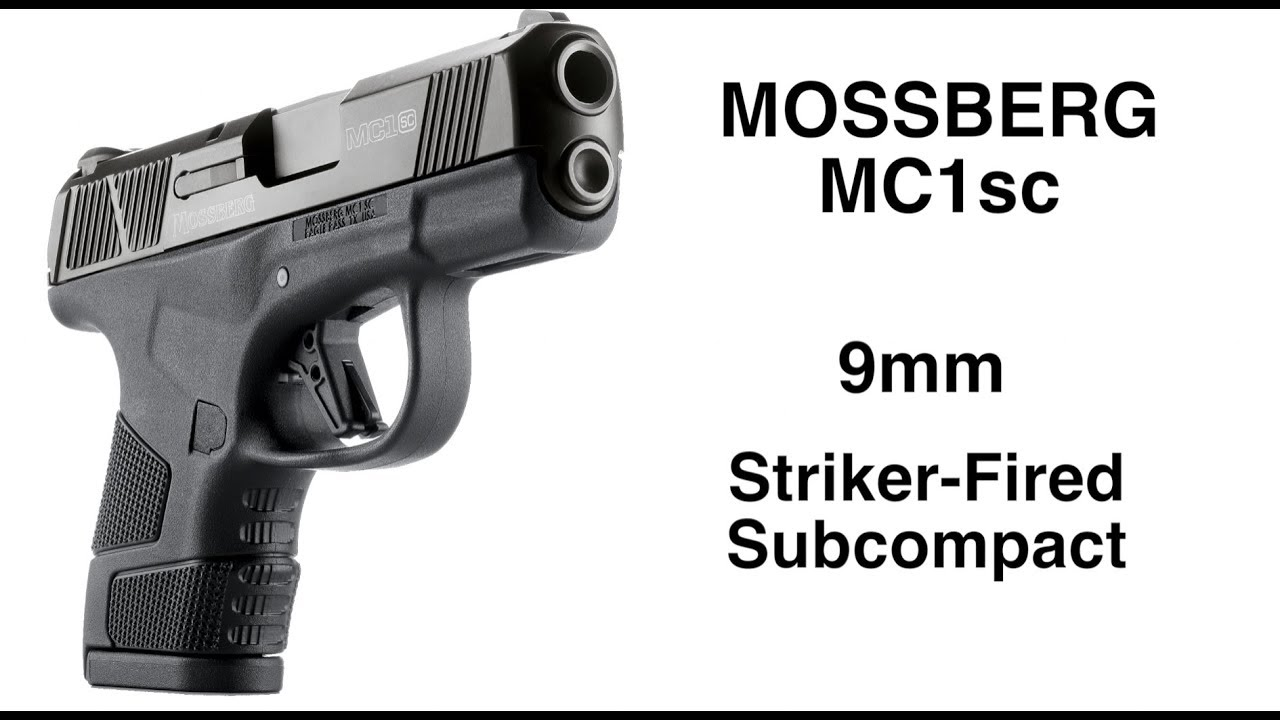 After 100 Years Mossberg Re-Enters The Handgun Market