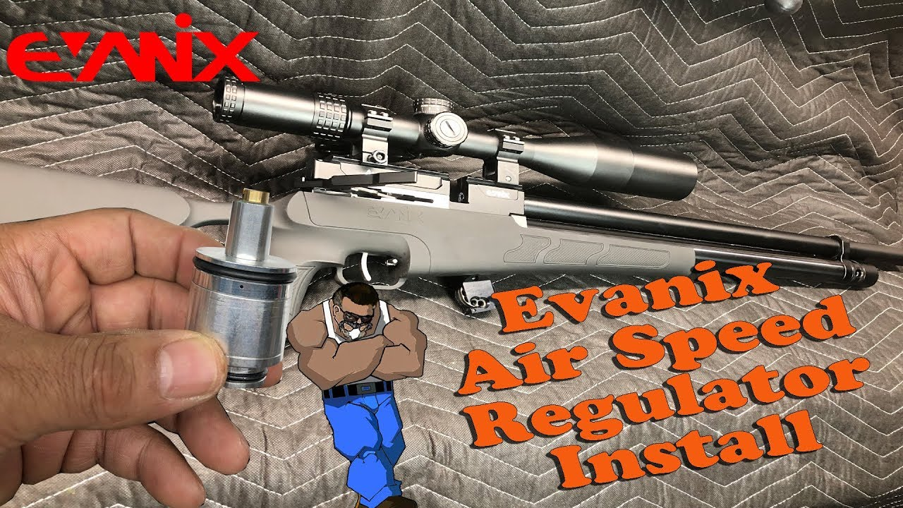 Evanix Air Speed: Regulator Install