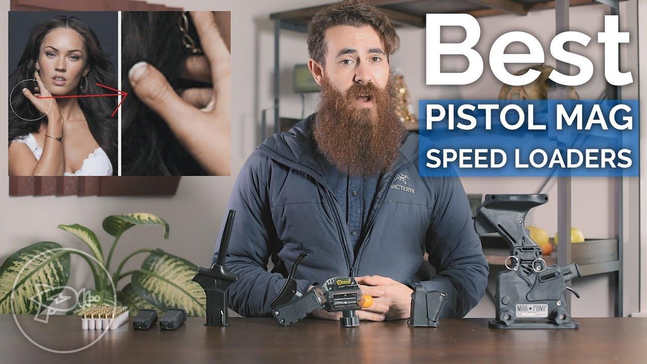 4 Pistol Magazine Speed Loaders [9mm+]: MagLula, ETS, Caldwell, MagPump