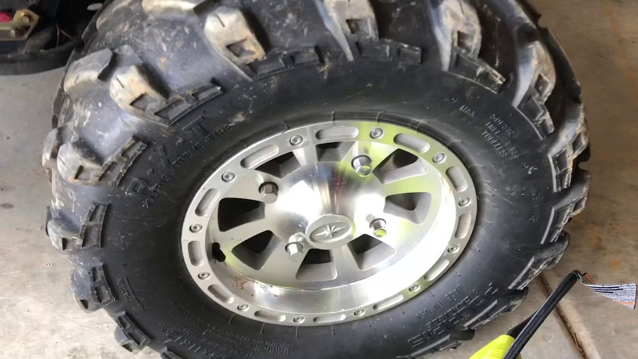 Tire fix on aisle 5