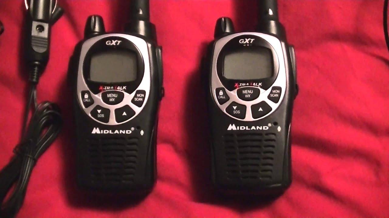 Midland GRX1000 Radios