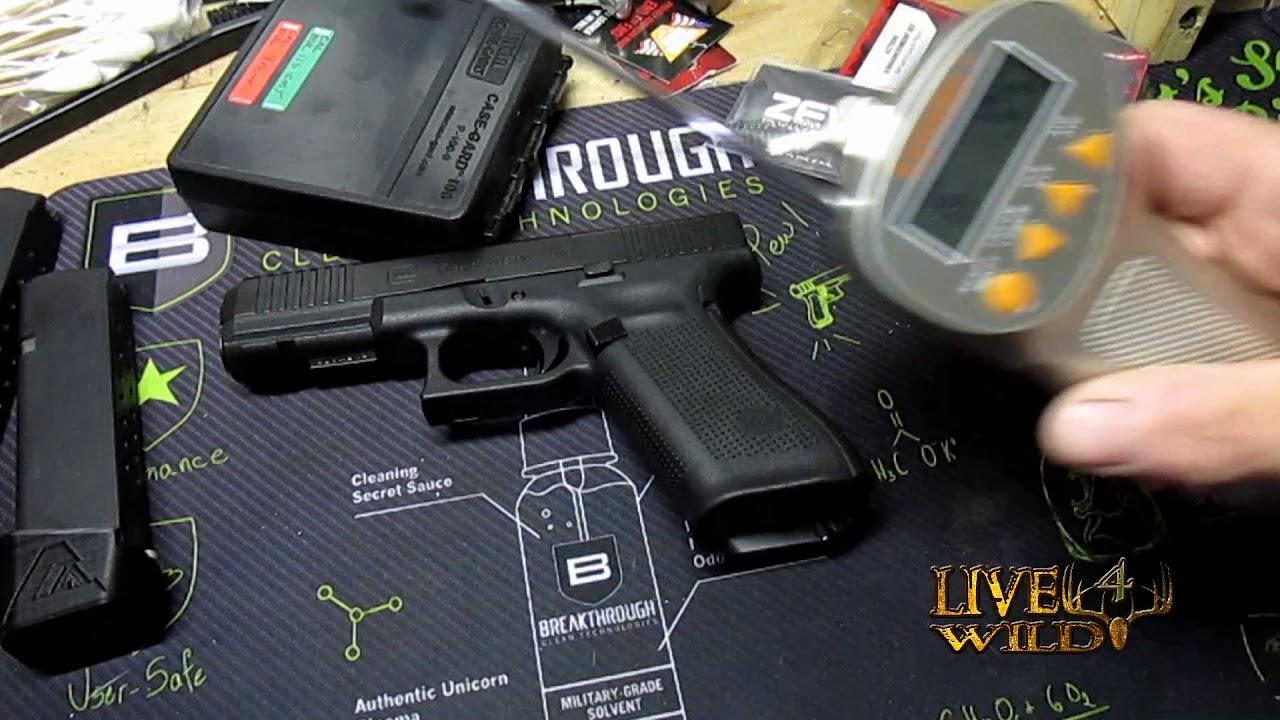 Glock 17 Gen 5 MOS /FS  with  APEX Action Enhancement Kit