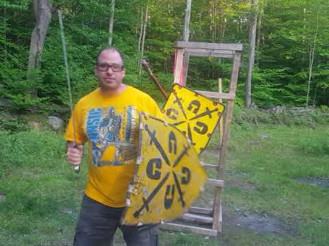 Lignitzer's sword and buckler #6 applied to Shield combat