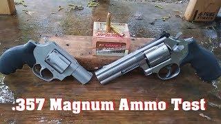 .357 Magnum Ammo Test Episode 3. Barnes VOR-TX 140 gr XPB