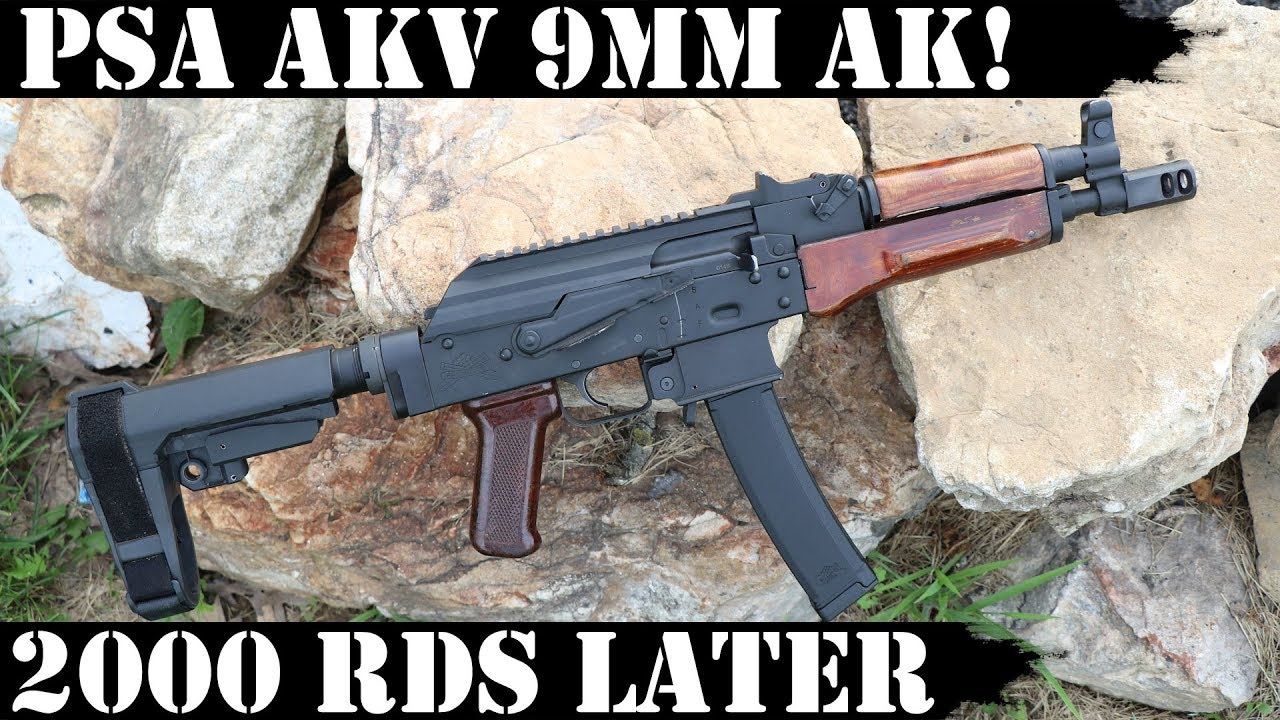 PSA AKv - 9mm AK! 2,000 Rounds later!