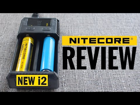 New i2 Battery Charger by Nitecore