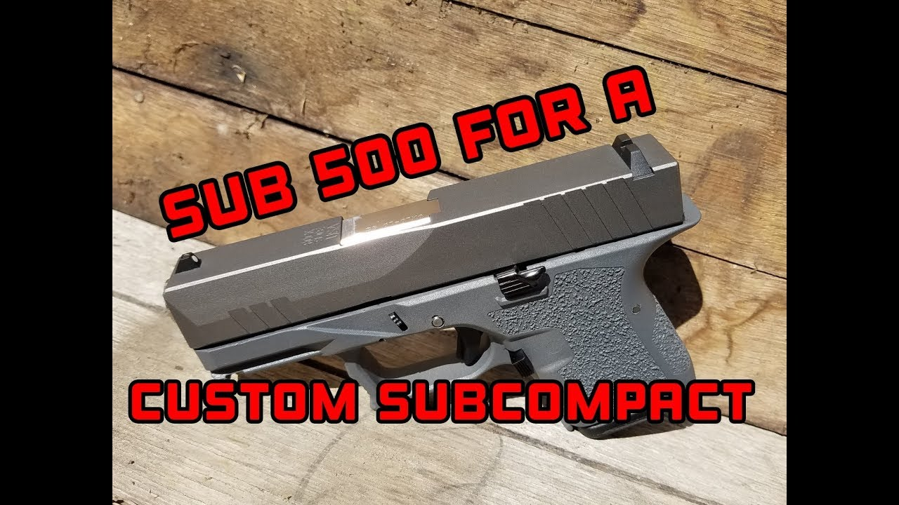 Polymer80 G26 Glock26 build, pf940sc  range and review Rock Slide USA, Lone Wolf Dist,