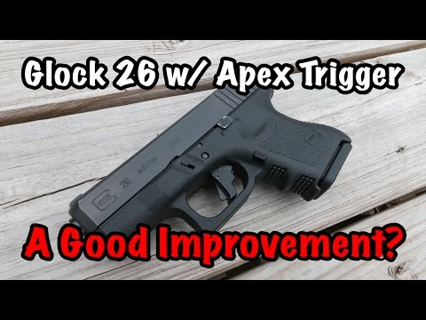 Glock 26 with Apex Trigger | A Good Improvement?