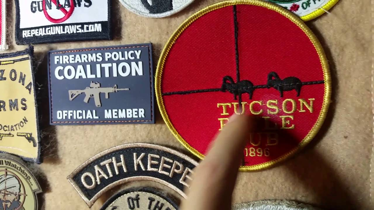 Tucson Rifle Club - Patch of the Day