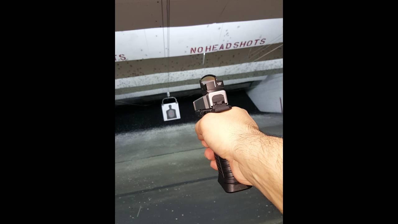 Polymer80 Spectre Pistol Build Range Trip #2