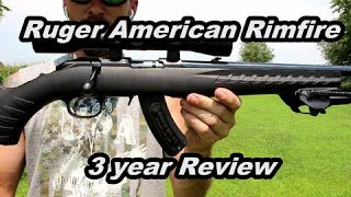Ruger American Rimfire 3 year review