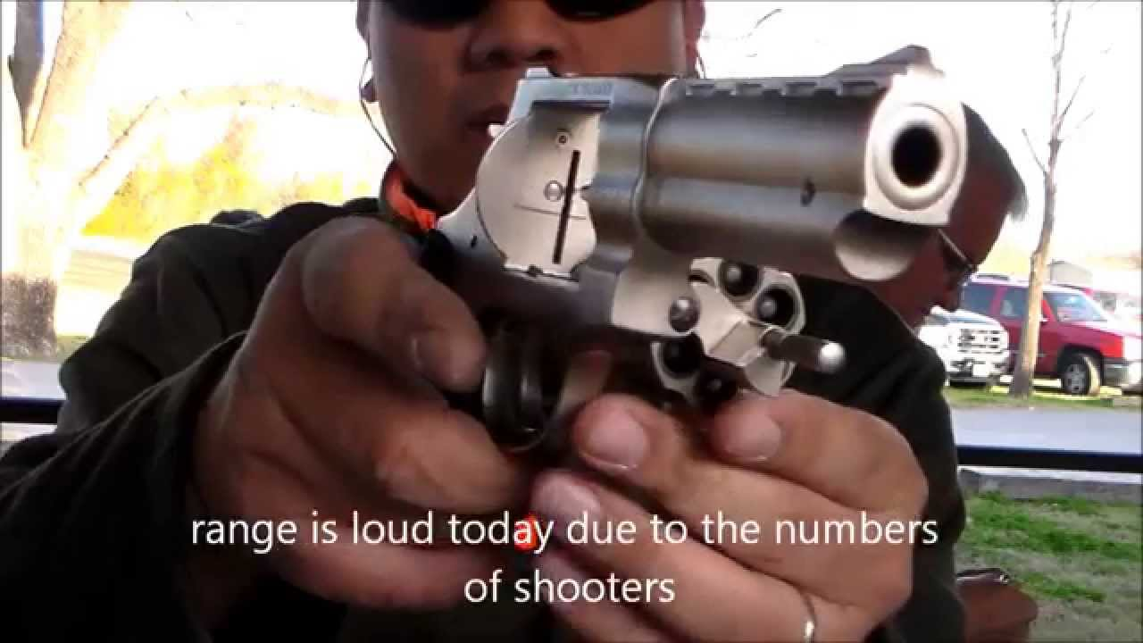 EAA WINDICATOR 357 REVOLVER SHOOTING