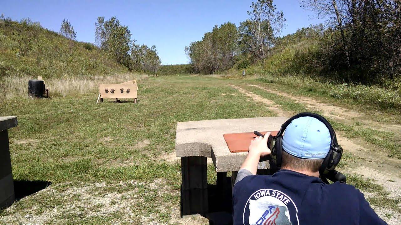 Appanoose County IDPA 3-Gun 2015-09-20 Stage 4 Billy W