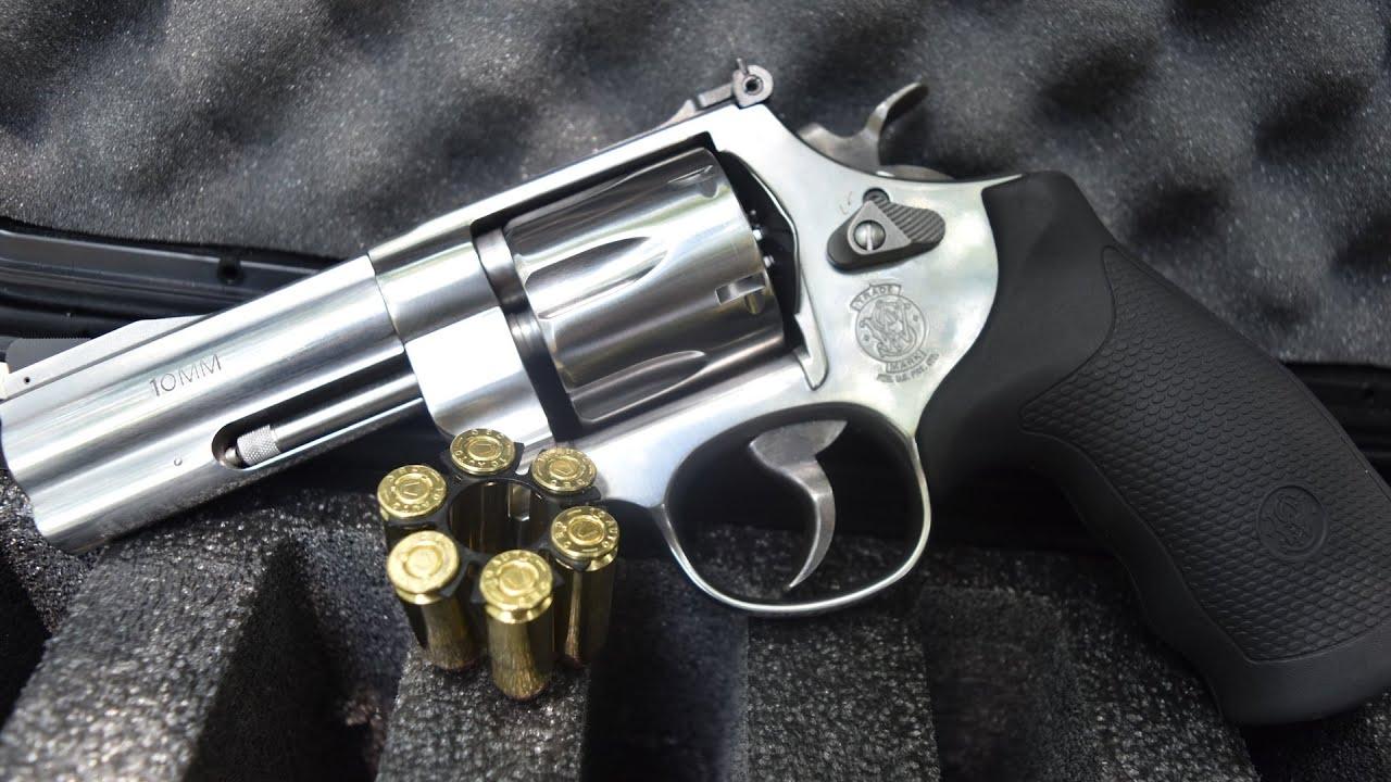 S&W 10MM Revolver! (Model 610)