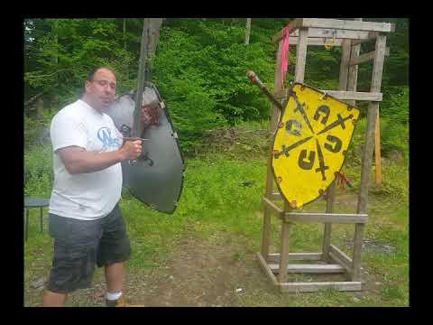 Unterhau combinations in sword and shield combat