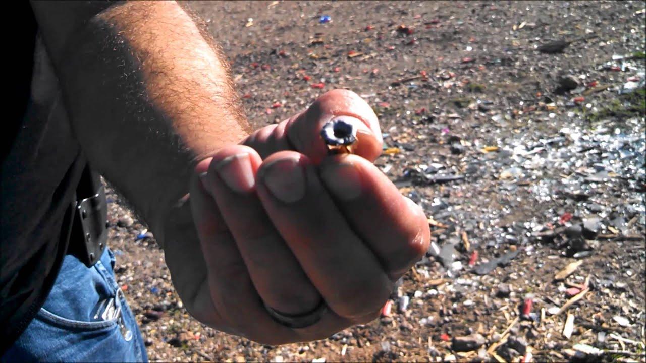 9mm gel test: 124 gr Federal Hydrashok