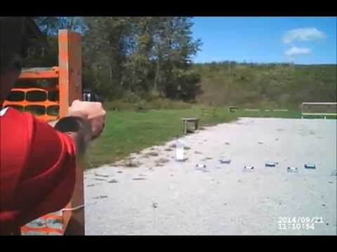 Appanoose County Shooting Club 3-gun match 09/21/14 Jeremy Stage 3