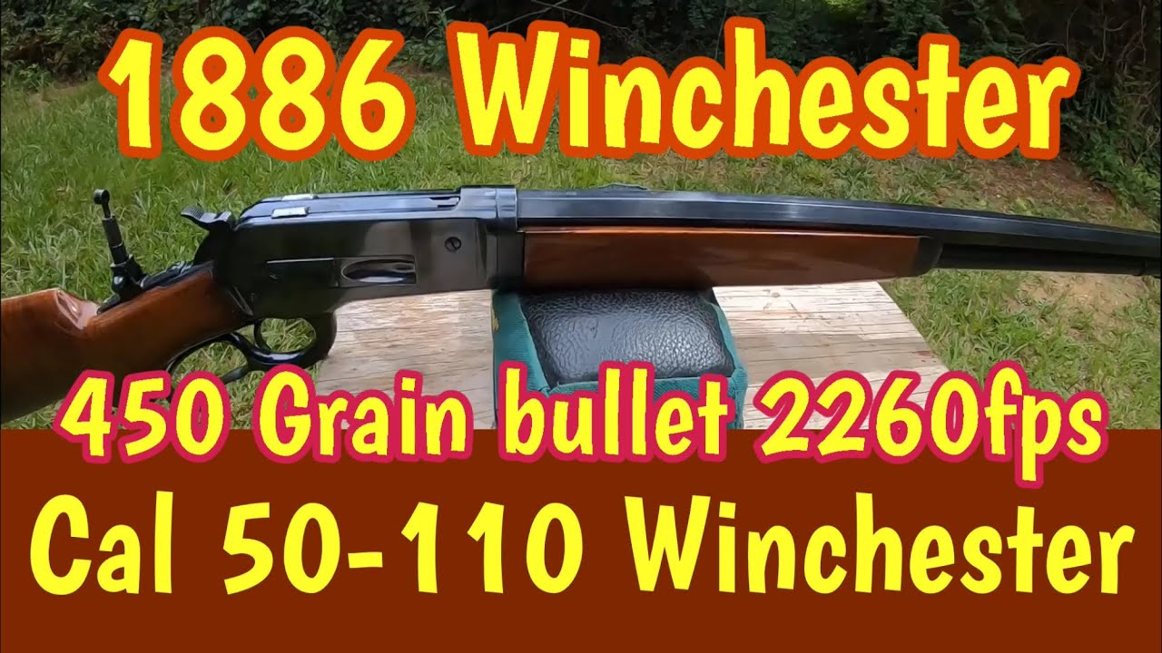 testing the 450 grain Barnes bullet for the 50-110