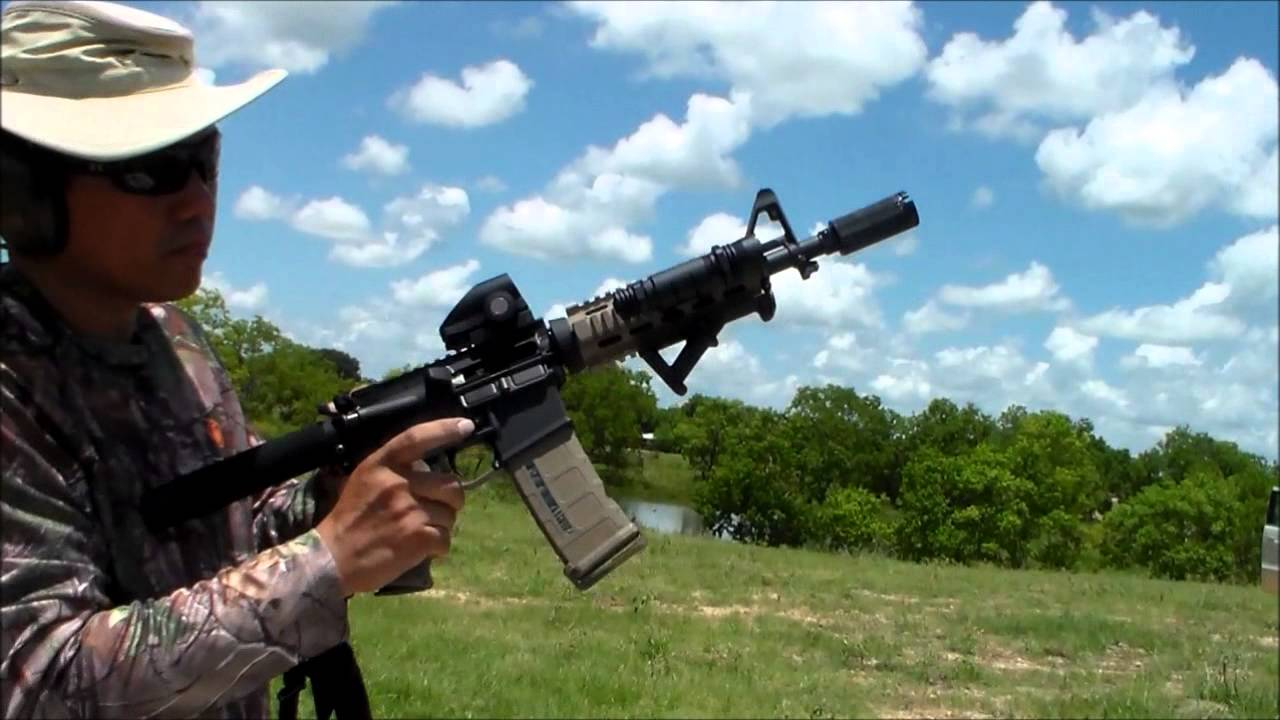 AR15 PISTOL SHOOTING