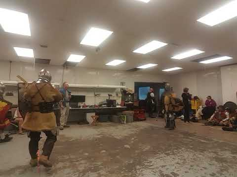 Sword and Shield Fighting- 5/30/19 - #4
