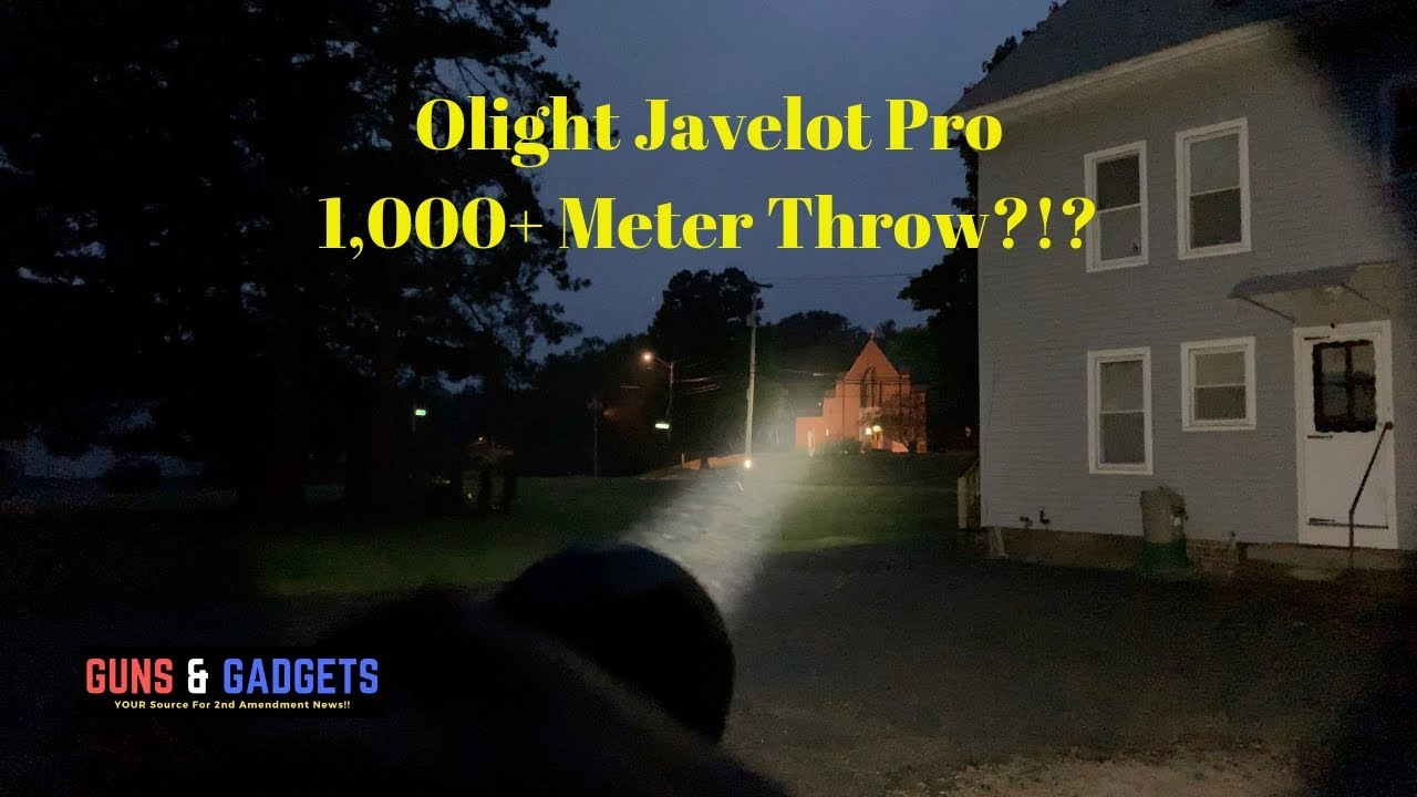 Olight Javelot Pro 1,000+ Meter Throw?!?
