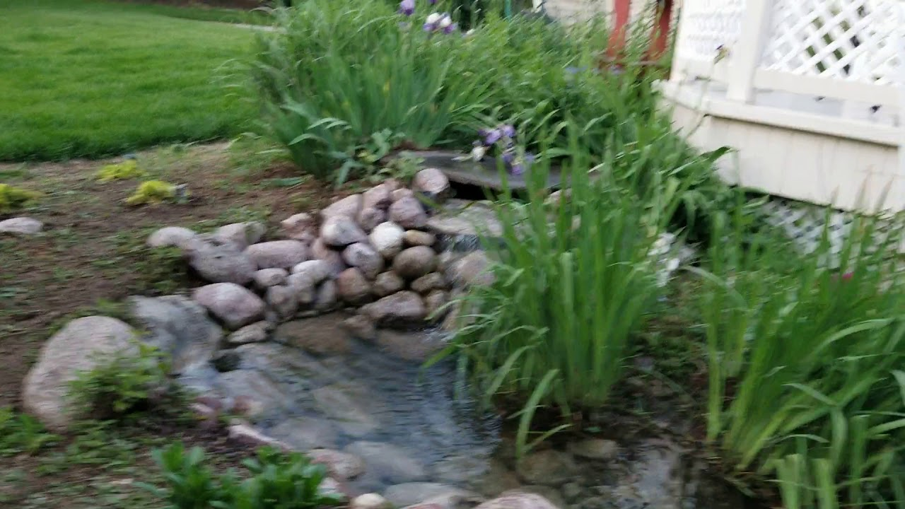 My pond, well more like water feature :)