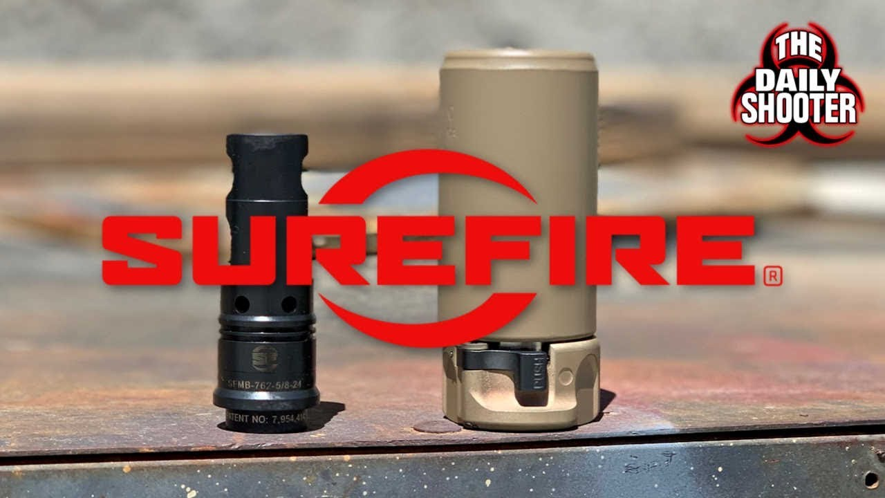 SureFire Warden and Muzzle Brake First Look