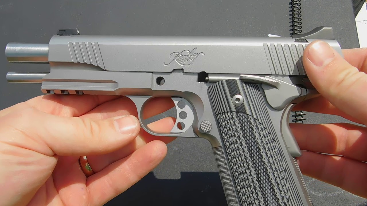 How To Field Strip A Kimber Custom 1911 TLE/RL