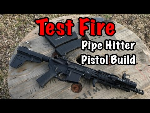 Pipe Hitter Pistol Build | Lets See If It Runs!!