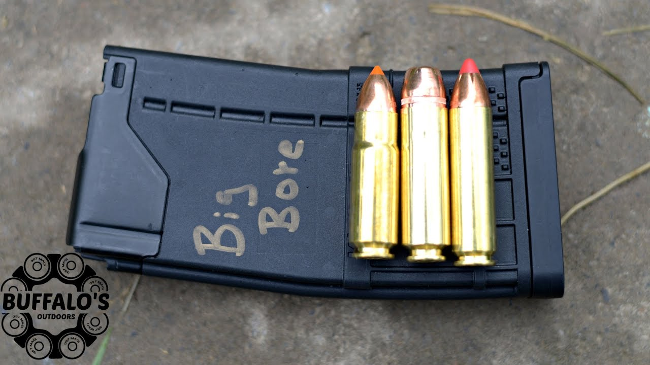BIG BORE AR-15 Magazine Solution