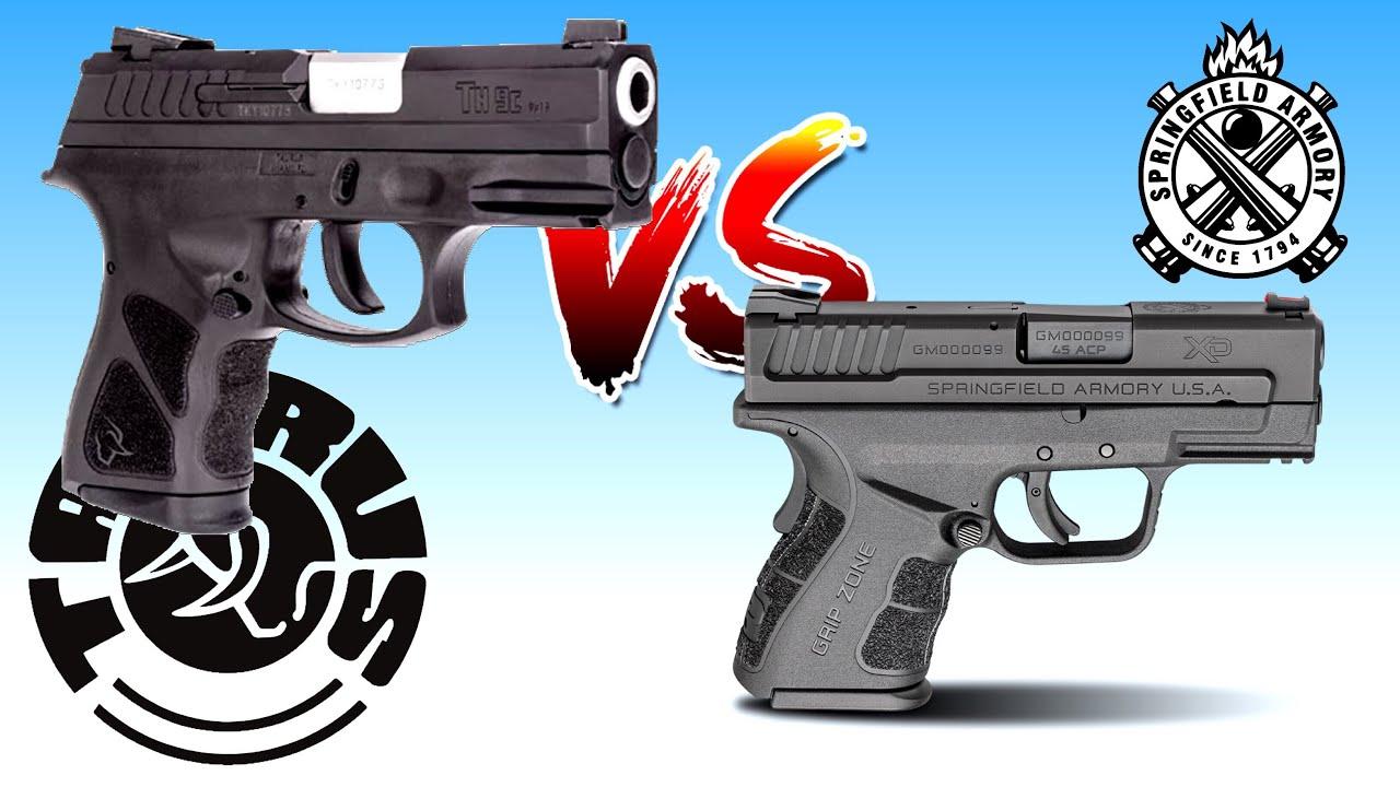 DA/SA Midsize Handgun Comparison