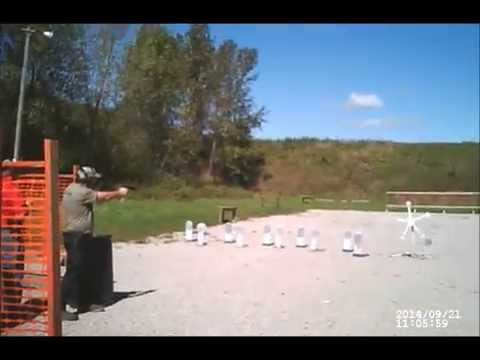 Appanoose County Shooting Club 3-gun match 09/21/14 Stage 2a