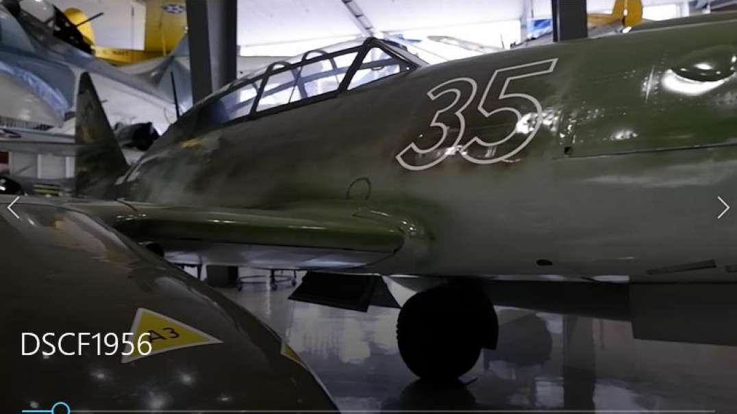 Messerschmitt Me 262 - Pensacola Naval Aviation Museum - Florida