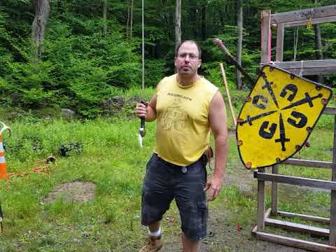 Unterhau use in sword and shield combat