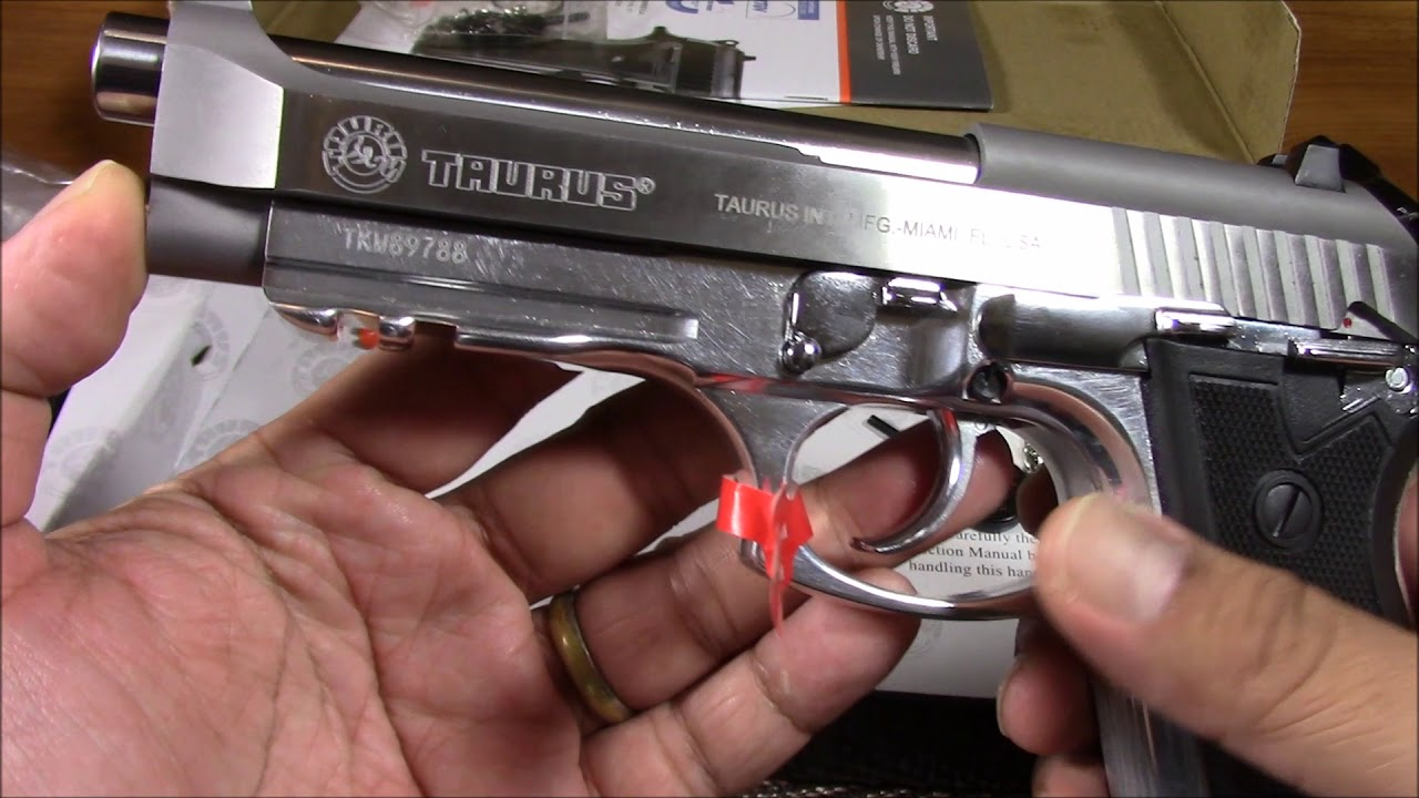 TAURUS PT92 UNBOXING IN HIGH DEFINITION