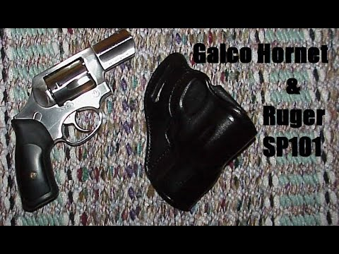 Galco Hornet for the Ruger SP101