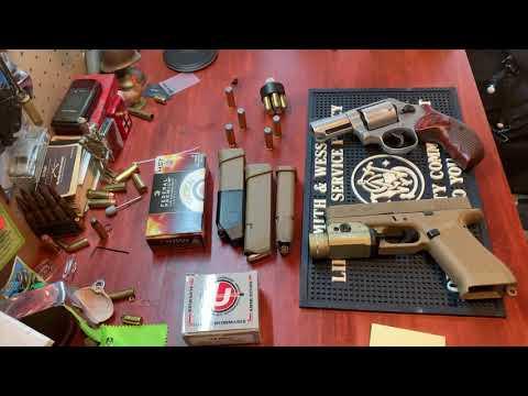 Help me decide Power vs capacity glock 19x vs Smith & Wesson model 69