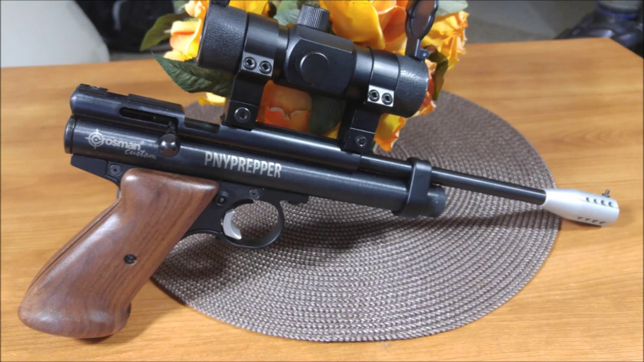 CROSMAN 2300KT GRIPS AND RED DOT