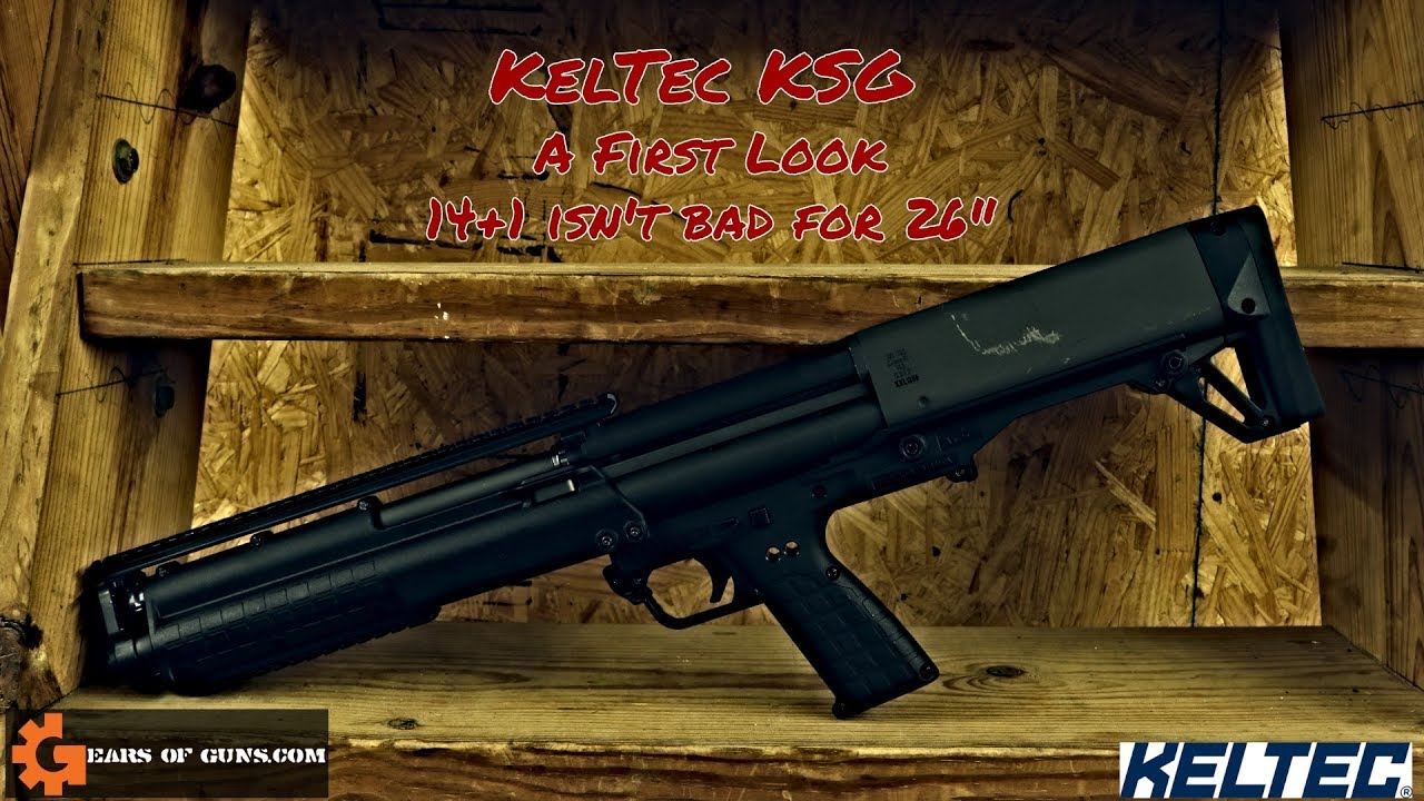 KELTEC KSG A First Look - 14 +1 isn't bad for 26