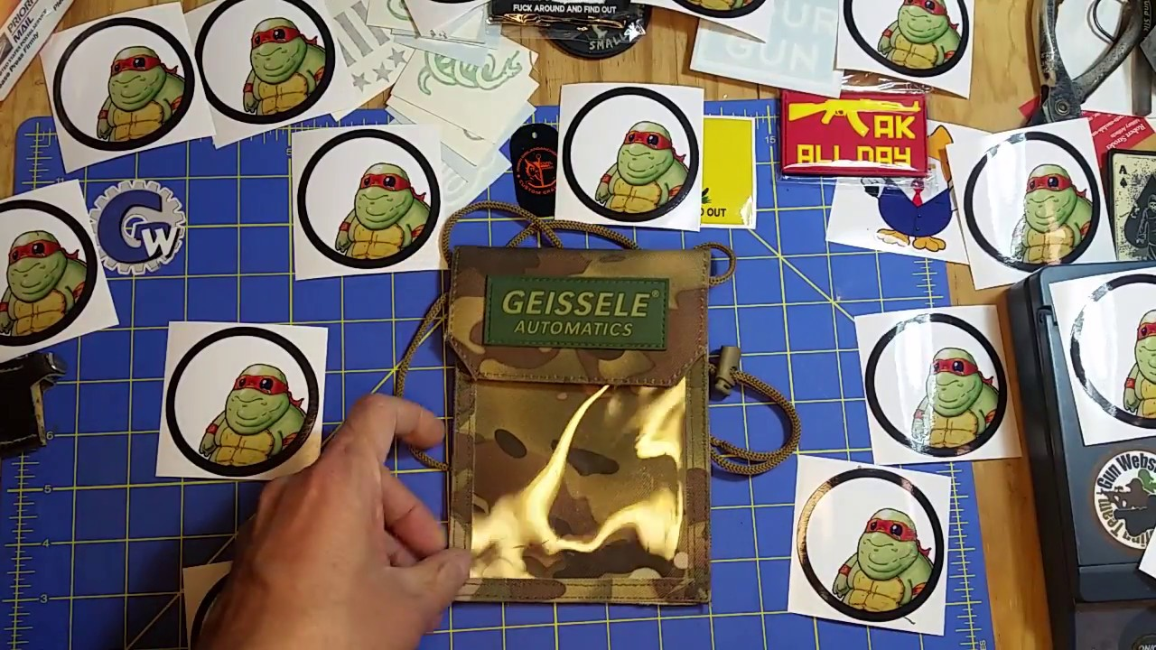 Geissele Badge Holder in the Mail Call Monday !!