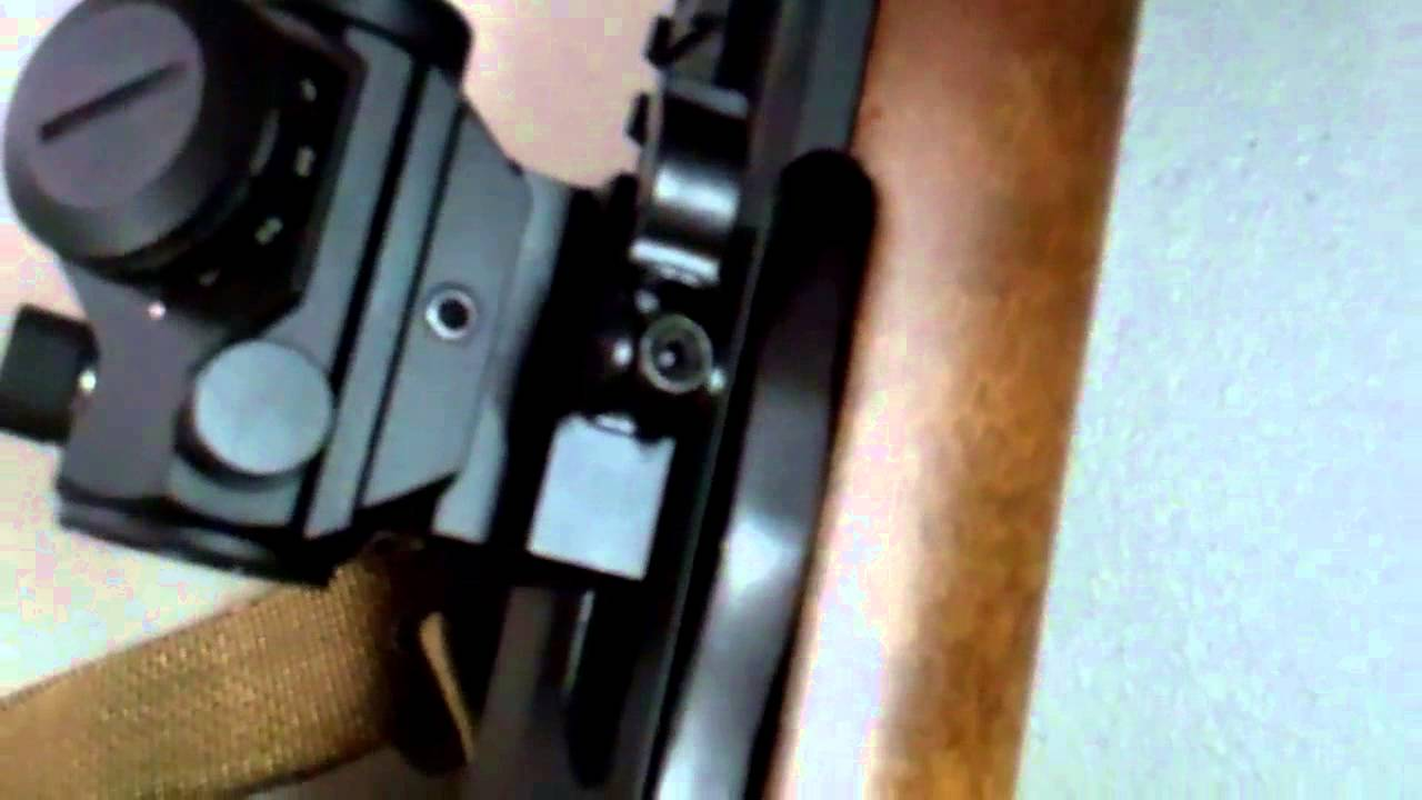 Ruger Mini-14 with practical mods