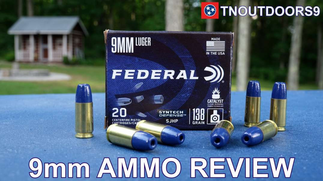 9MM SYNTECH DEFENSE AMMO REVIEW