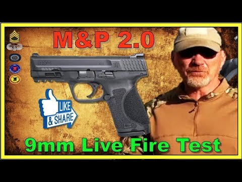 S&W M&P 2.0 Compact 9mm Test