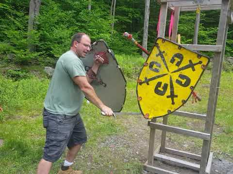 Lignitzer's sword and buckler #5 applied to Shield combat